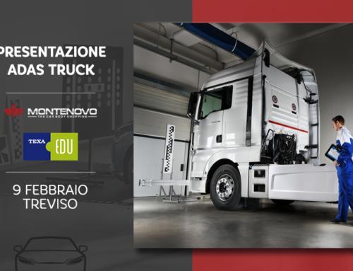 Presentazione sistema TEXA soluzioni A.D.A.S. per Truck